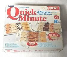 Emson The Original QUICK MINUTE MICROWAVE FOOD DEHYDRATOR As Seen On TV Complete