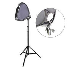 Kit completo DynaSun Softbox EasyFolder SB1009 50x50cm con Stativo 220cm x Flash