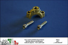 DUCATI / BREMBO   MASTER CYLINDER CLAMP WITH MIRROR MOUNTING - GOLD