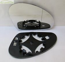 (A38) SEAT IBIZA TOLEDO LEON DRIVER RIGHT SIDE HEATED WING DOOR MIRROR GLASS