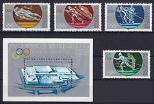 DDR Mi Nr. 2839 - 2842 + Block 74 **, Olympiade Sarajevo 1984, MNH