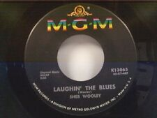 "SHEB WOOLEY ""LAUGHIN THE BLUES / SOMEBODY PLEASE"" 45 MINT"