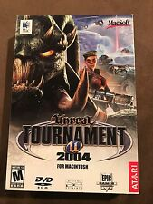 RARE NEW for MAC Unreal Tournament 2004 for Macintosh Computer Game