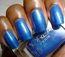NEW! L'Oreal loreal nail polish in ELECTRIC BLUE ~ Blooming Lights Collection