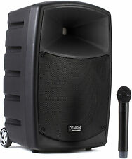 """Denon Envoi Battery Powered/Active 10"""" Inch UBS/SD Portable PA System"""