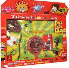 Practical Joke Set  - Pooh - Whoopee Cushion - Spiders Toy  Ultimate Prankster