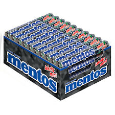 40 x Rolls of mentos - Licorice-Mint (= 1,52kg / 3.3 lbs / 53.61oz) **NEW**