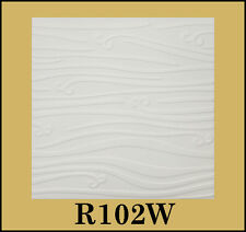 Tin-Look Styrofoam Ceiling Tiles Easy Installation - R102W