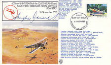 19 nov 1980 60th ann queensland & nt signé par Hughie edwards vc piloté cover
