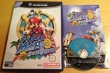 SUPER MARIO SUNSHINE for NINTENDO GAMECUBE & Wii COMPLETE
