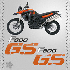 STICKER BMW F 800 GS 2009 BIKE PEGATINA VINYL DECAL AUTOCOLLANT AUFKLEBER ADES