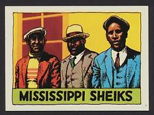 Mississippi Sheiks - 1980 Heroes of the Blues card #12