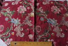 Vintage Luscious Liseré Silk Metallic Cotton Brocade Fabric~18thC Motifs~HomeDec