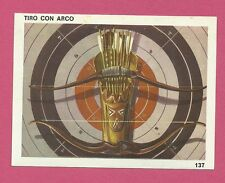 Archery Bow and Arrows Vintage 1960s Sports Card from Spain