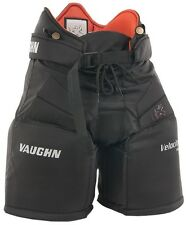 "New Vaughn 7190 Goal Pant Jr ice hockey goalie pants black size 28"" junior large"