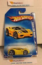 Ferrari 360 Modena #68 * Yellow * 2008 Hot Wheels * H43