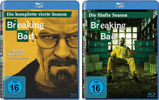 5 Blu-rays * BREAKING BAD - STAFFEL / SEASON  4 + 5 IM SET # NEU OVP