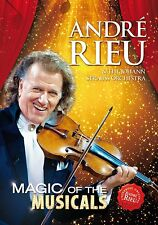 ANDRE RIEU - MAGIC OF THE MUSICALS: DVD (MAY 26th 2014)