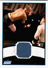 WWE Christian 2012 Topps Authentic Event Worn Shirt Relic Card Blue