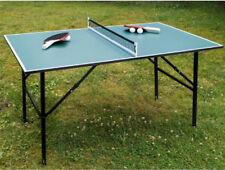 Klappbare Tischtennisplatte + Netz, Schläger, Bällen. Spaß für die ganze Familie