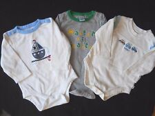 3 Little boy baby toddler one piece outfits tops  6 to 9 m/ Gap/Place/Old Navy