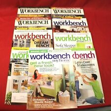 Workbench DIY Magazines Do It Yourself 9 Back Issues 2000 and 2009