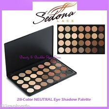 NEW Sedona Lace 28-Color NEUTRAL Eye Shadow Palette FREE SHIPPING Nude Warm BNIB