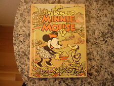The Pop-Up Minnie Mouse by Walt Disney Studios. First edition 1933