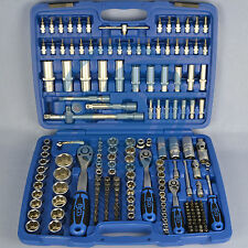 BGS Socket wrench set 192 pieces 1/4 3/8 1/2 Ratchet box Nut Corrugated profile
