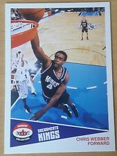 2001-02 Fleer Shoebox Footprints #19 /150 Chris WEBBER