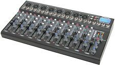 Citronic CM10 Live Audio Sound Mixer XLR Band PA Studio Delay FX USB SD Player