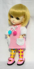 Lati Yellow Doll Outfit Pink Long Sleeve Dress