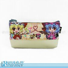 Touhou project canvas pen bag pencil makeup bag Stationery bag new