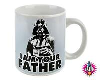 OFFICIAL STAR WARS DARTH VADER I AM YOUR FATHER RETRO MUG COFFEE CUP NEW & BOXED