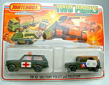 "TP12 Military Ambulance & Field Car ""A"" schwarzoliv rare dunkle Farbe top"