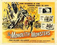 THE MONOLITH MONSTERS Movie POSTER 30x40 Lola Albright Grant Williams Les