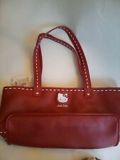 USA Seller NEW Hello Kitty RED Leather Tote Purse Hand Bag Sanrio