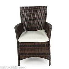 Greenfingers Moncafa Dining Chair - Black/Coffee