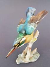 Hutschenreuther Vogel Figur, Eisvogel, Entwurf Achtziger, Mod.Nr.2252, H = 16 cm