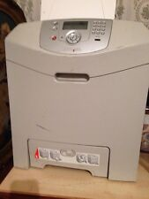 Lexmark Colour Laser Lazer Printer C534n Hardly Used - Must Go Soon