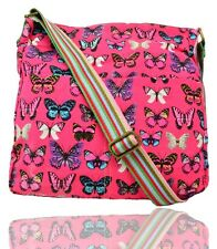 Quality Ladies Butterfly Messenger Crossbody canvas shoulder nappy school bags