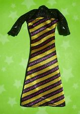 MONSTER HIGH CREATE A MONSTER INSECT BUMBLE BEE DOLL OUTFIT STRIPE DRESS ONLY