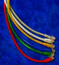 100 Pack Lot - 1ft CAT6 Ethernet Patch Cable Cord 550 MHz RJ45 - Pick Colors