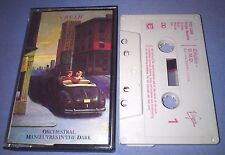 ORCHESTRAL MANOEUVRES IN THE DARK  OMD CRUSH cassette tape album T2958