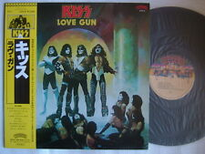 KISS LOVE GUN / NM MINT- CLEAN COPY JPN WITH YELLOW OBI