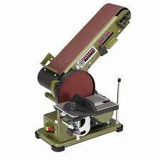 Belt Disc 3/4 HP 4 x 36 Grinder Miter Bevel Workshop Combination Sander FEDEX
