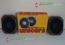 COPPIA ALTOPARLANTI BICONO  25+25  mm.130  UNICARS 07.175