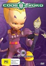 ●● CODE LYOKO - XANA POSSESSED - Volume 3 ●● (DVD, 2007) **AS NEW**