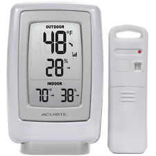 AcuRite Digital Weather Station Wireless Indoor Outdoor Temperature Sensor New