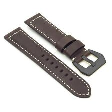 DASSARI Salvage Distressed Leather Watch Band Strap w Black Pre V Buckle Panerai